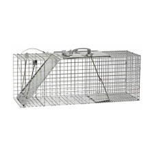 "Havahart 1085 1-Door Easy Set Live Animal Cage Trap, Large, 32"" x 10"" x 12"""