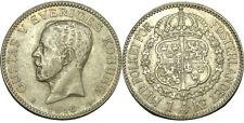 elf Sweden 1 Kronor 1.9.1.6 6/5 W  Silver  World War I   Overdate