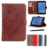 """Magnetic Leather Wallet Flip Case Cover For Samsung Galaxy Tab S2 9.7"""" T810 T815"""