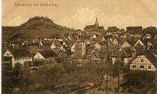 Germany AK Weinsberg 74189 mit Weibertreu old sepia postcard