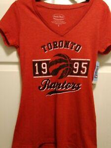 Toronto Raptors Majestic Threads Shirt Women's Size Small
