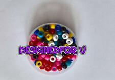 *3 FOR 2* Classic Opaque Mix 9x6mm 100 Barrel Highest Quality Pony Beads