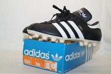 Adidas vintage Fussballschuhe UWE 80er EU.38 UK.5  BOX WEST GERMANY Made black