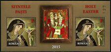 Rumänien Romania 2015 Ostern Easter Ikone Religion Block 617 MNH Auflage 411