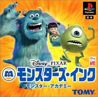 USED PS1 PS PlayStation 1 Monsters, Inc. Monster Academy 29337 JAPAN IMPORT