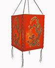 Pantalla de lámpara, papel LOKTA, Luz Lámpara Lampion Colgante Nepal
