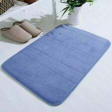 Memory Foam Non Slip Bath Mat Absorbent Soft Bathroom Home Floor Rugs C _NEW