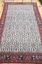 Genuine PERSIANO TABRIZ lana fatto a mano Tappeto Annodato a Mano Birds 260 x 145 cm