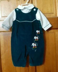 Boy 3/6 months 2pc dress outfit Christmas Easter Thanksgiving Wedding Infant