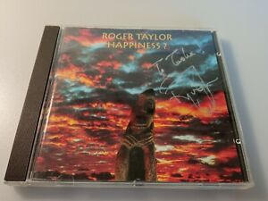 Roger Taylor (Queen) Happiness ? CD 1994 SIGNED RARE
