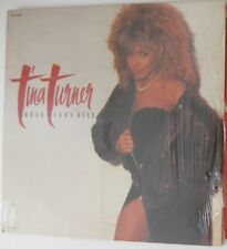 TINA TURNER BREAK EVERY RULE VINTAGE 1986 VINYL RECORD LP 1ST PRESS R113333 EUC