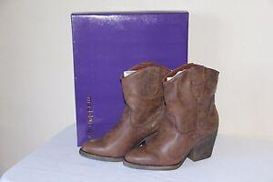 NEW Madden Girl RAMZ Women's Winter Cowboy Western Boots Mid Calf Bootie Shoes