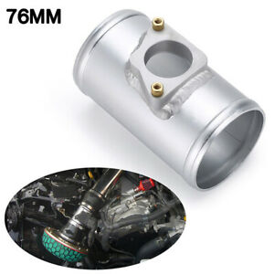 76mm MAF Mass Air Flow Sensor Mount Adapter Tube For Toyota Mazda Subaru Suzuk