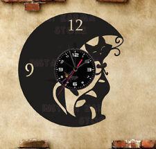 Orologio disco vinil clock orologio da parete gatti 9