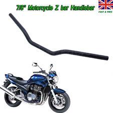 "Motorbike Drag Handlebars 22mm (7/8"") for Scramblers Brat Bikes Streetfighters"