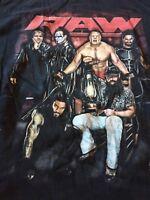WWE MONDAY NIGHT RAW Wrestling T-Shirt Men Size XL Sting Brock Lesnar WWF