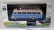 Brekina 58053 Steyr 480A Bus - weiß/pastellblau- von Starline