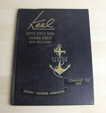 KEEL US Navy Naval Training Center Great Lakes Illinois IL Co. 323 1969 Book