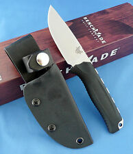Benchmade Hunt 15008-BLK Steep Country Knife Black Santoprene S30V Drop Point