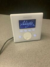 Crestron APAD Adagio Wall Mount LCD Controller With White Faceplate & Mount Box