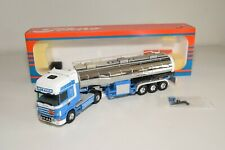 A5 4 1:50 TEKNO SCANIA 164 KEES IN 'T VEEN TRUCK WITH TANK TRAILER TANKER VNMIB