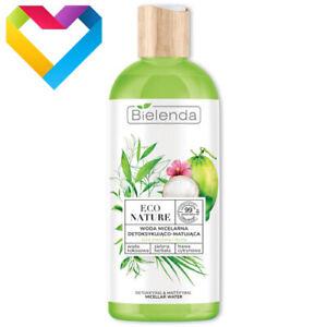 Bielenda Eco Nature DETOXIFYING & MATTIFYING MICELLAR WATER For Oily Skin 500ml