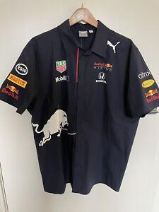 2021 puma red bull racing button shirt f1 formula 1 one Christian Horner Uniform