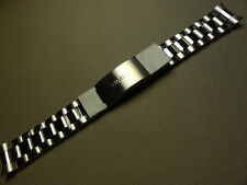 New Timex T2N437 Highland Street Stainless Steel Bracelet 19mm Clasp Watch Band