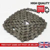 5/6/7 Speed Gear Link 116 Universal Grey Steel Bicycle Mountain Bike Cycle Chain