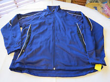 Holloway Athletic Cyclone Warm Up sportswear jacket L large Mens purple NOS NWT