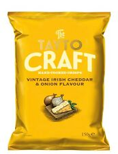 TAYTO CRISPS CHEESE AND ONION IRISH POTATO CHIPS CRAFT SPECIAL EDITION