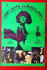 I KILLED EINSTEIN CZECH JIRI SOVAK SCI-FI COMEDY 1970 RARE EXYUGO MOVIE POSTER