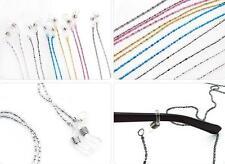 6Pcs Eyeglass Eyewears Sunglasses Reading Glasses Chain Cord Holder neck strap