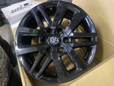 "4x GENUINE TOYOTA HILUX SR5 2020 BLACK 18"" Wheels  HILUX 4WD PRADO RIMS ONLY"
