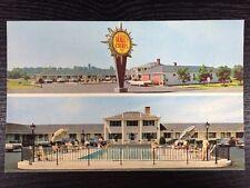 Quality Courts Port City Motel Porstmouth, New Hampshire Chrome Postcard Unused