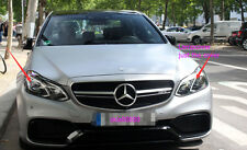 For Mercedes-Benz W212 E250 E350 E400 E500 Lamp Cover Headlight Cover Lense L+R