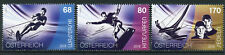 Austria 2018 MNH Watersports Sailing Kitesurfing Waterski 3v Set Sports Stamps