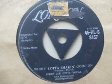 "JERRY LEE LEWIS......WHOLE LOTTA SHAKIN` GOIN` ON.....7""..1957.....ROCK N`ROLL"