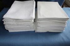 30 coupons tissu ancien drap lin metis coton pour torchon travaux couture 4 kg