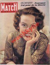 Paris Match n°44 du 21/01/1950 Michèle Chédid Nadia Gray Jean-Louis Barrault