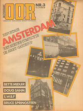 MAGAZINE OOR 1981 nr. 03  - BRUCE SPRINGSTEEN/AVANT-GARDEPOP AMSTERDAM/DOUG SAHM