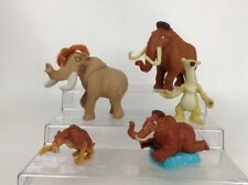 LOT (5) Blue Sky Studios Ice Age Toy Figures Manny Diego Sid Ellie Cake Toppers