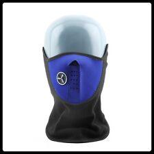 Thermal Neck Warmer,Fleece,Balaclava,Ski Mask,Bike,Half Face Mask,Snowboard,Blue