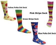 Adults Socks Yellow, Pink, Yellow & Multi Color - Mens Women Footwear