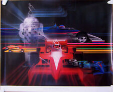 POSTER ~ 1987 INDIANAPOLIS 500 ~ THE WINNER'S CIRCLE