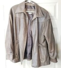 Women's THE LEATHER RANCH Leather Jacket Size 4 (close to a Medium?) CANADA MADE