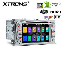 2DIN Android 7.1 Car DVD GPS for Ford Focus Navigation Head Unit HDMI DAB+ 2G