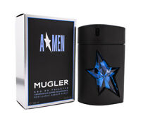 Angel Amen by Thierry Mugler 3.4 oz EDT Refillable Rubber Spray Cologne NIB