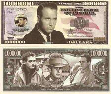 Paul Leonard Newman Million Dollar Bills x 2 American Actor Director Auto Racing