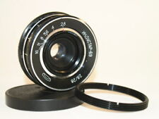 Industar- 69 Soviet lens  28 mm f 2,8 + adapter M39 - M42 USSR